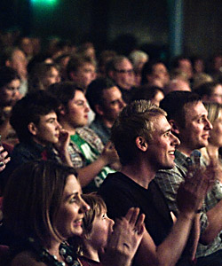 Edinburgh Magic Festival Crowd